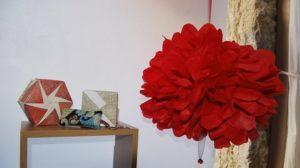 Créations textiles et origami