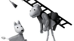 Têtes de bois : Petits théâtres de papier
