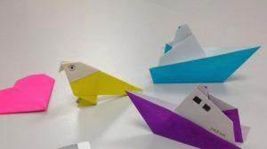 Découverte de l'origami