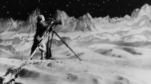 La femme sur la lune