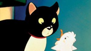 La mouette et le chat