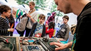 Nuits sonores : Warm up Mini-sonore