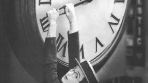 Harold Lloyd en plein air