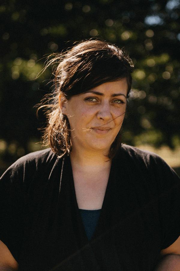 La cheffe lyonnaise Guillemette Auboyer.